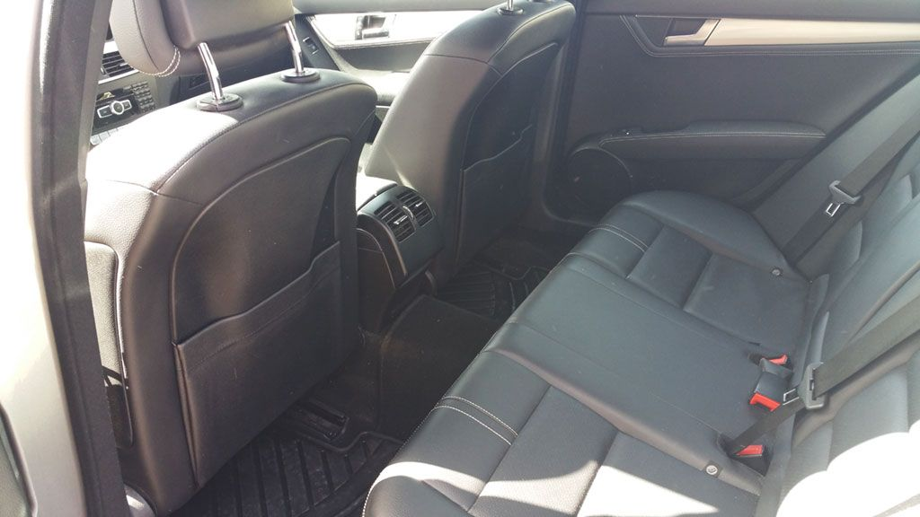Mercedes C220 inside 2